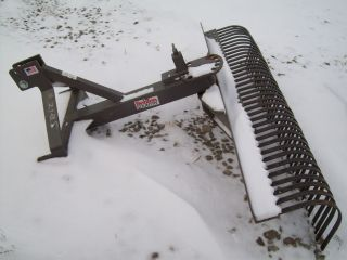 Behlen Country , 6 Ft 3 Point Hitch Landscape Rake ; Rock Rake