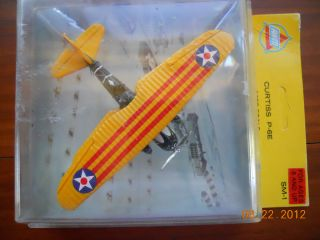 Vintage AHM Showcase Miniature Curtiss P 6E Hawk Model Airplane