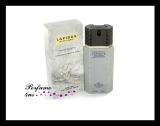 Lapidus Pour Homme Ted Lapidus 3 3 oz EDT Men Cologne 3355992001779