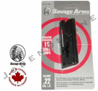 Savage Arms Stevens Lakefield   Model 62, 64 & 954 22LR MAGAZINE clip