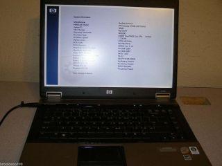 HP 6730b Laptop Dual Core CPU 4 GB RAM No HD No OS BIOS Locked