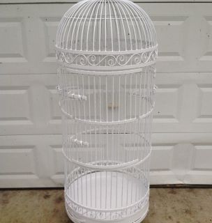 Large Parrot Bird Cage Dome Top 64 High