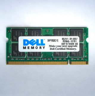 1GB DDR2 SDRAM SODIMM LAPTOP MEMORY UPGRADE DELL INSPIRON 1501 6000