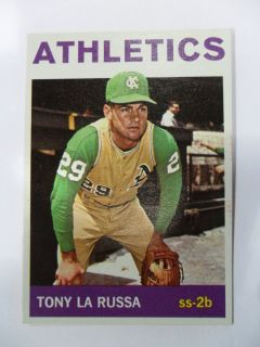 1964 Topps 244 Tony LaRussa Rookie NM MT Phenomenal Baseball Athletics