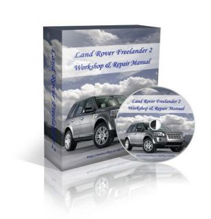 Land Rover FREELANDER 2 II Car Workshop Service Repair Manual Wiring