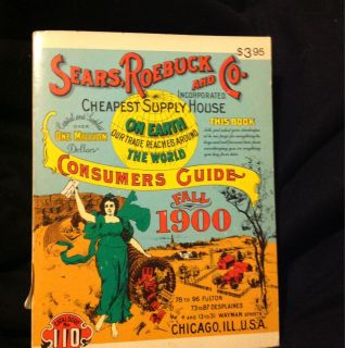 1970 REPRINT OF  ROEBUCK and CO CONSUMERS CATALOGUE GUIDE FALL