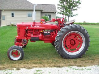 Farmall H Tractor with Power Steering and 3 Point Restored