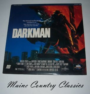 Laser Disc Darkman Lee Neeson Larry Drake Action