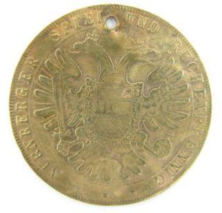 German Lauer Nurnberger Spiel Und Rechenpfennig Coin X