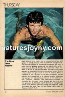 FROM ATLANTIS + CHiPs 1977 TV ad   Patrick Duffy, Erik Estrada, Wilcox