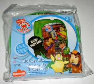 NIP Wonder Pets Pop Up Toy Box Laundry Hamper Bin
