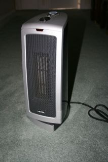 Lasko Portable Ceramic Space Air Heater Fan Model 5367 1500 Watts
