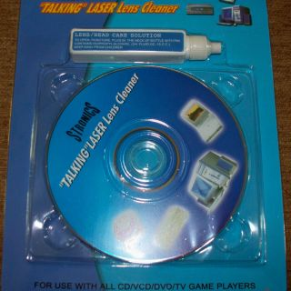 New Laser Lens Cleaner Cleaning Kit for DVD CD Player Game WET DRY