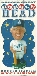 Tommy Lasorda Dodgers Bobble Head Dodger Stadium Giveaway