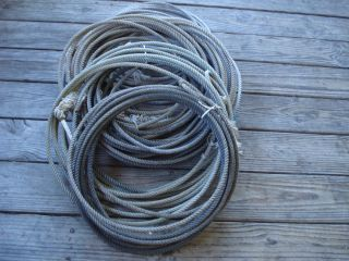 Used Ropes Lariats Team Roping Rope Lariat Lot Roper Lasso