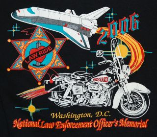 Law Enforcement Officers Memorial Space Shuttle Washington D C Harley