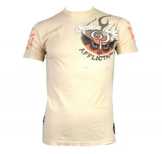 Affliction Indian Larry Shaman A4922 T Shirt Sand
