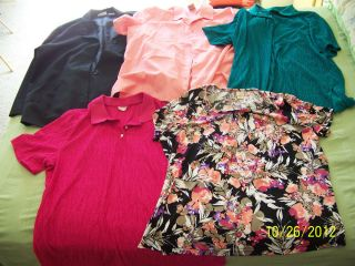 Size 22W Shirts Clothing Jacklyn Smith Lauren Lee Covington