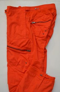 145 Polo Ralph Lauren RLX Mens Space Poplin Casual Cargo Pants