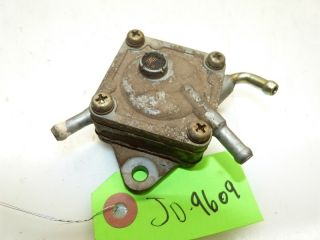John Deere 265 Mower Kawasaki FC540V 20HP Engine Fuel Pump