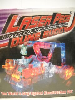 Laser Pegs Lighted Construction Kits Dune Buggy Ages 7 31 Pieces