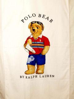Ralph Lauren Polo Bear Beach Towel New