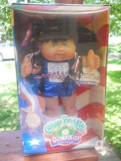 MIB CABBAGE PATCH KIDS OLYMPIKID 1995 PINKIE LAVETTE TRACK FIELD NICE
