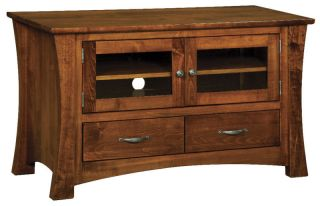 Amish Solid Wood Plasma TV Stand LCD Media Console DVD Maple Storage