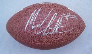SOUTH CAROLINA GAMECOCKS MARCUS LATTIMORE signed autographed football