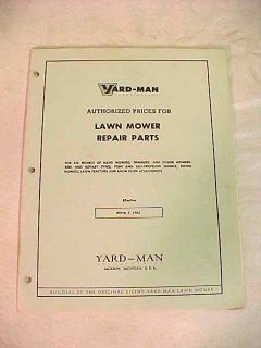 yard bug lawn mower manual