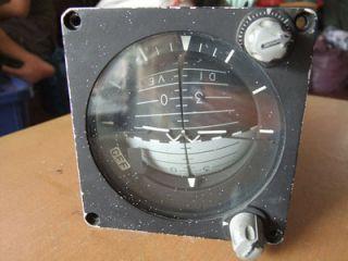 Lear Siegler Indicator Attitude Gyro 4145 A1 P N 148700 03 01