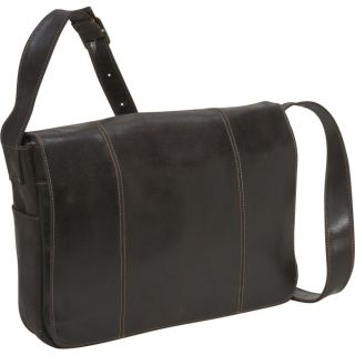 Le Donne Leather Premium Distressed Leather Laptop Messenger Bag