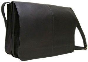 Le Donne Leather Messenger Bag Business Case Briefcase