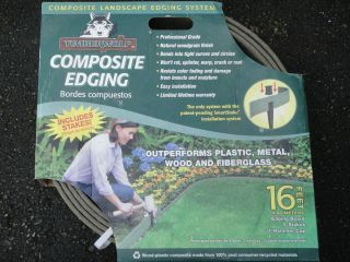 Lawn and Garden Border Recycled Composite Edging System