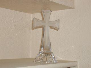 Towle Lead Crystal Cross