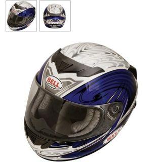 Bell Apex Edge Helmet Blue Silver 09 Large