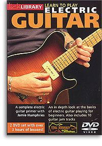 Lick Library Learn to Play Electric Guitar DVD Lesson