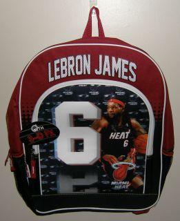 Lebron James Miami Heat Backpack Model KL992