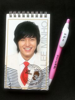 Lee MIN HO City Hunter Collection Memo Notebook Ballpen