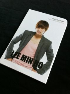 Lee MIN HO City Hunter F4 Collection Postcard Stickers