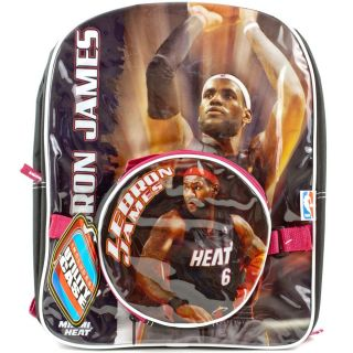 LEBRON JAMES School BACKPACK Lunch Box Tote Book Bag Utility Case