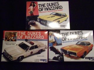 The Dukes of Hazzard Cars General Lee Rosscos Daisys Plastic Model
