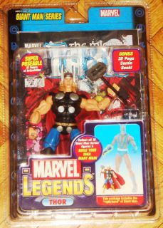 MARVEL LEGENDS THOR GIANT MAN SERIES AVENGERS TEAMMATE OF HAWKEYE IRON