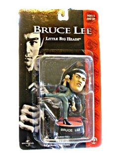 Bruce Lee Little Big Heads Kicking
