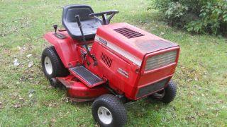 Montgomery Wards 1238 Lawn Tractor 12hp Briggs Engine 38 Cut Deck