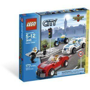 Lego City Police Chase Set 3648 New in Box SEALED
