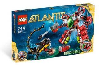 Lego Atlantis Undersea Explorer Specal Edition Set 8080 New