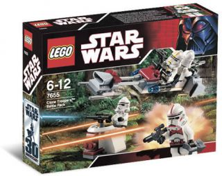 Lego 7655 Star Wars Clone Trooper Battle Pack