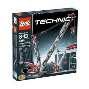 Lego Technic Crawler Crane Set 8288 RARE with All 800 Pieces