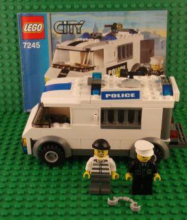 Lego Town City Prisoner Transport Set 7245 with Instructions No Box